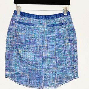 Astr   Tweed High Low Skirt